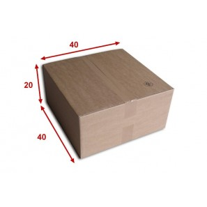 bo te carton n 54 format 400x400x200 mm. Black Bedroom Furniture Sets. Home Design Ideas