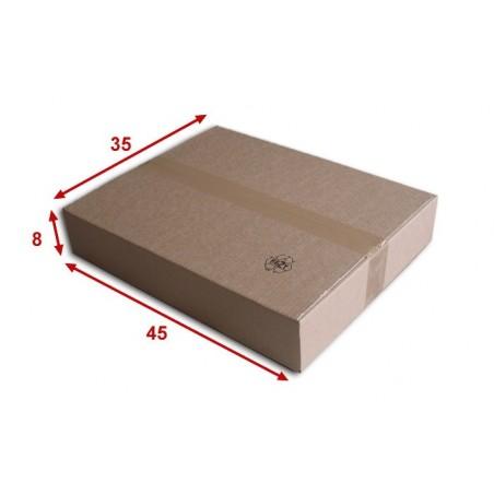 Boîte carton (N°57) format 450x350x80 mm