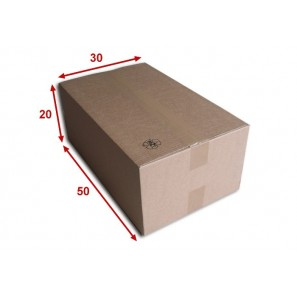 Boîte carton (N°60) format 500x300x200 mm