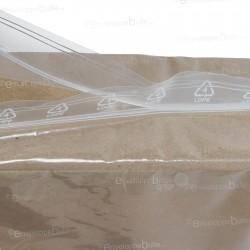 Sachets plastiques ZIP 150x220 mm