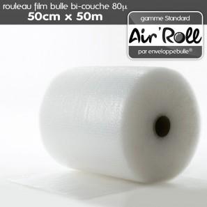 Rouleau de film bulle d'air 50cm x 50m