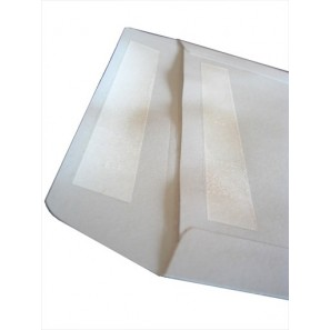 Enveloppes blanches CD/DVD à FENÊTRE