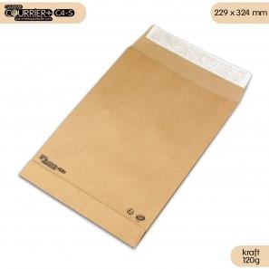 Enveloppes kraft à soufflets C4  - Courrier+ C4-S