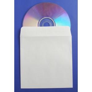 Enveloppes blanches CD/DVD
