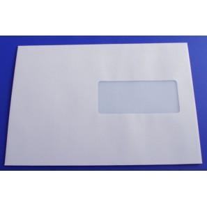 Enveloppes blanches c5 auto adh sives fen tre for Enveloppes a fenetre