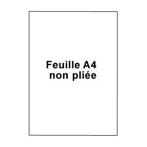 Enveloppes blanches c4 auto adh sives fen tre for Format fenetre