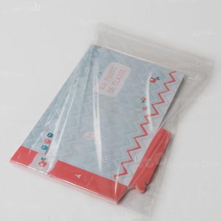 Sachets plastiques à fermeture ZIP 400x600mm standard 50µ