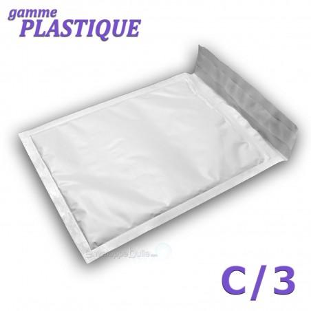 Enveloppes à bulles PLASTIQUE C/3 format 140x215 mm
