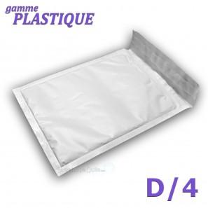 Enveloppes à bulles PLASTIQUE D/4 format 170x265 mm