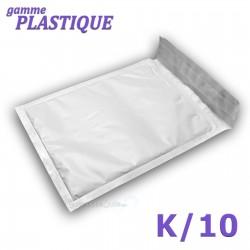 Enveloppes à bulles PLASTIQUE K/10 format 340x470 mm