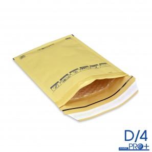 200 gold rembourré enveloppes bulle de diffusion 170 x 245 mm interne taille mp4