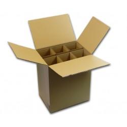 Carton spécial pour expédier 6 bouteilles