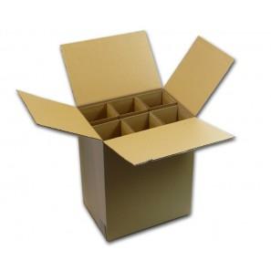 Carton sp cial pour exp dier 6 bouteilles for Des cartons pour demenager